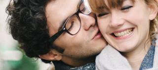 Junges heterosexuelles Paar